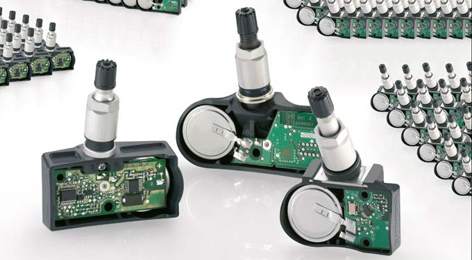 Continental Reaches Production of 200 Millionth Tire Pressure Sensor