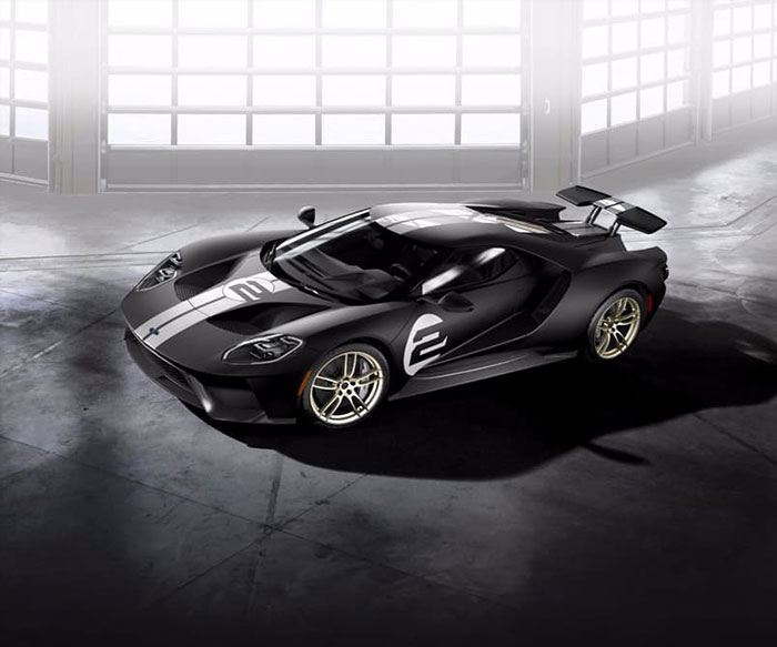 Ford celebrates Le Mans Victory with GT '66 Heritage Edition