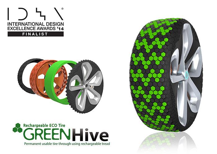 "Nexen Wins Red Dot Design Award for ""Green Hive"" Tire"