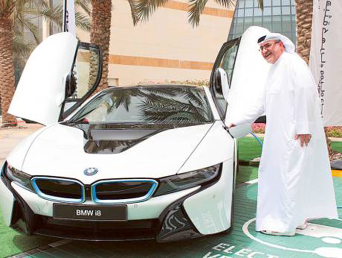 Dubai Government Decides to Make 10 Per cent of Fleet Electric by 2020