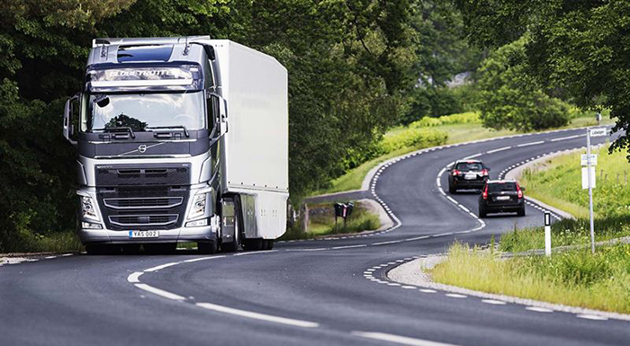 Volvo Trucks' Improved Powertrain Gives Dual Benefits