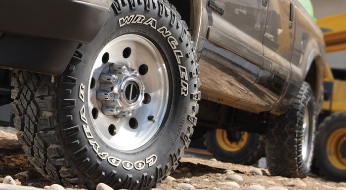 Goodyear Wrangler Tires Win Off Road award for Fourth Consecutive Year