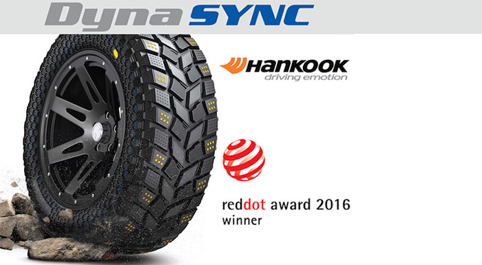 Hankook Wins Red Dot Award for DynaSync