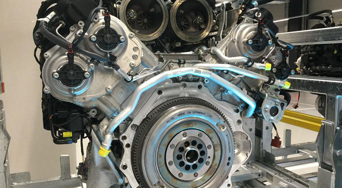 New Porsche V-8 Engine to Power Bentley and Audi Models