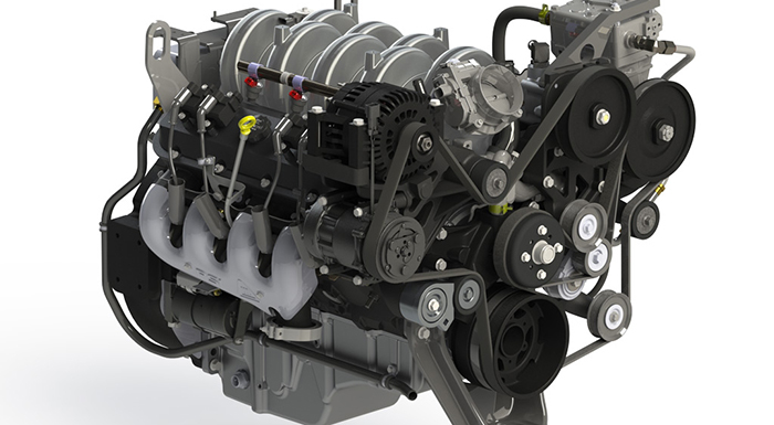 IC Bus Gives a Demo of Gasoline Powertrain