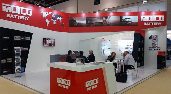 Mutlu Battery Makes Presence at Automechanika Dubai 2016
