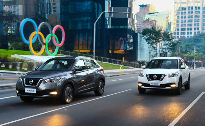 Nissan Kicks Takes Centerstage as Official Vehicle of Rio Olympics