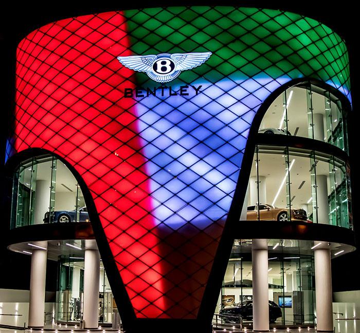 Bentley Opens Largest Showroom in the World in Dubai