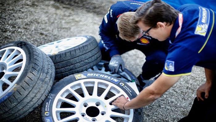 MICHELIN DEVELOPS NEW RAIN TIRE FOR FIA WRC