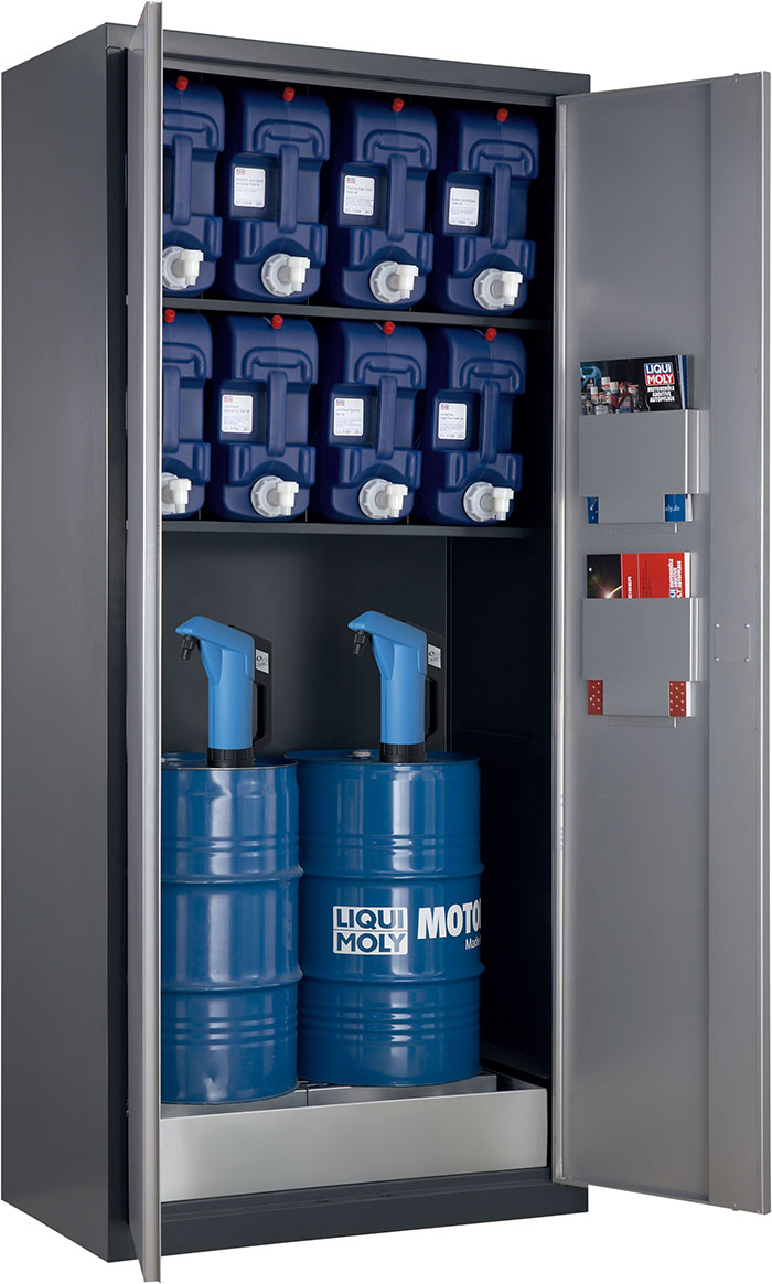 LIQUIMOLY to Showcase Cabinet for Storage of Oils at Automechanika Frankfurt