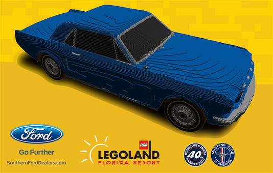 LEGOLAND to Showcase Life Size Mustang