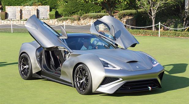 Icona to Sell Distinctive Titanium Car for USD 2.78 Million