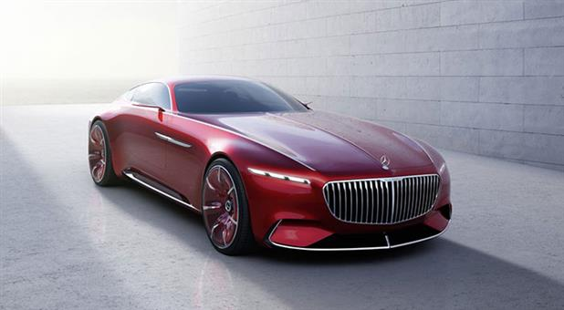 Mercedes Unveils New Electric Concept Coupe with Range Exceeding 200 Miles