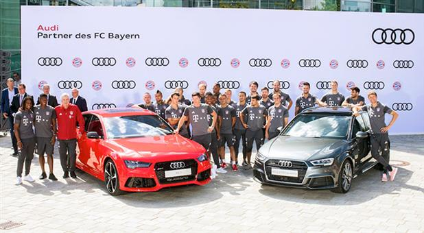 FC Bayern Begins Season on Sporty Note with Audi
