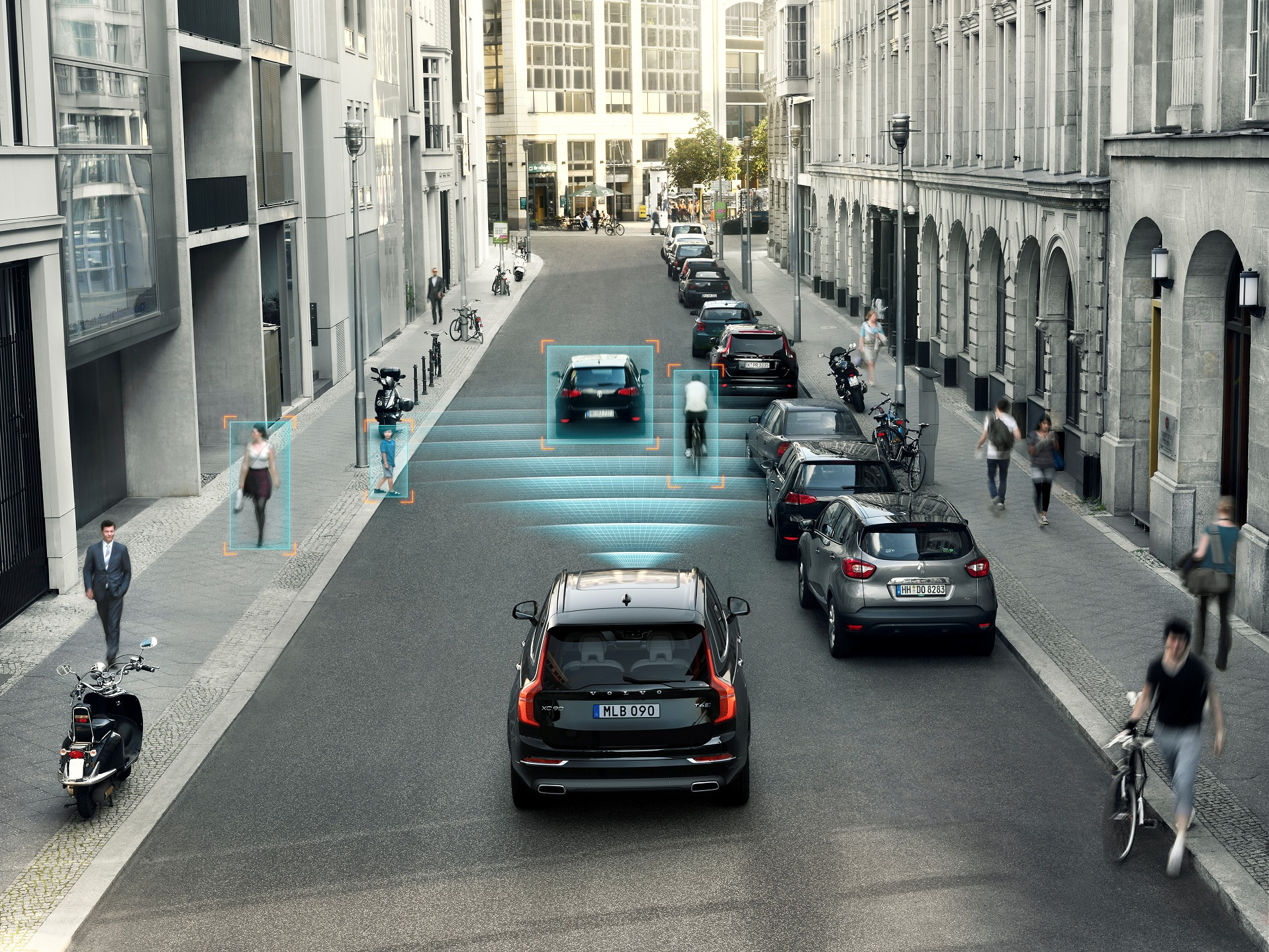 Volvo S90 and V90 Earn Top AEB Pedestrian safety ratings from Euro NCAP