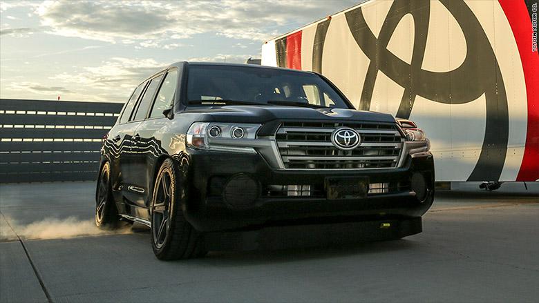 Toyota Land Speed Cruiser Becomes