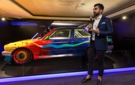 BMW Group Middle East Debuts BMW Art Car at Art Dubai