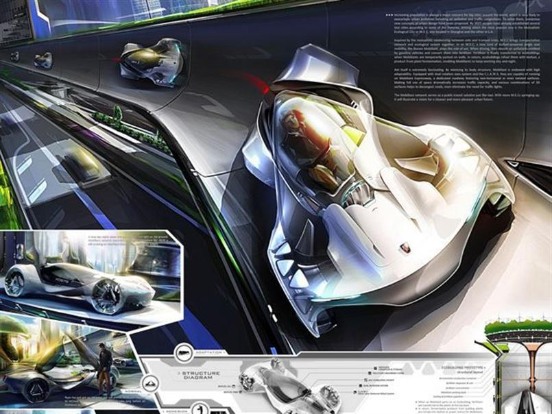 Systematica And ZGF Architects Win Global Design Competition at LA Auto Show