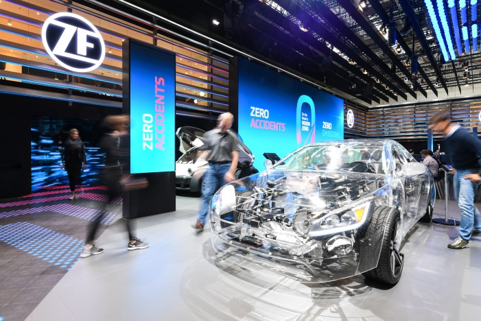ZF Signs Strategic Cooperation Agreement with Baidu to Work on Autonomous Driving