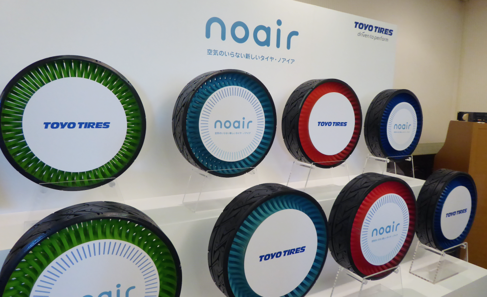 Toyo Tires Develops Noair Non Pneumatic Concept Tyre