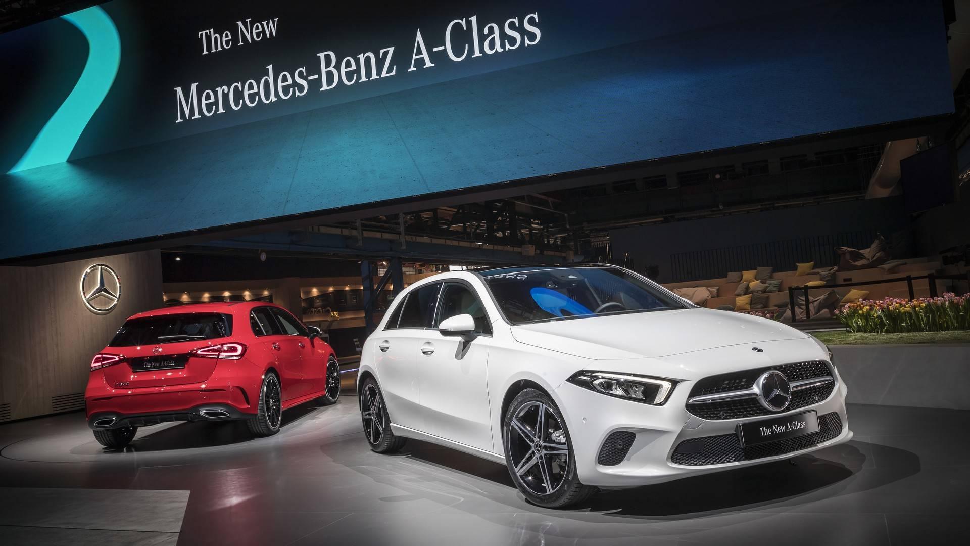 Mercedes Bills New A class as 'Smartphone on wheels'