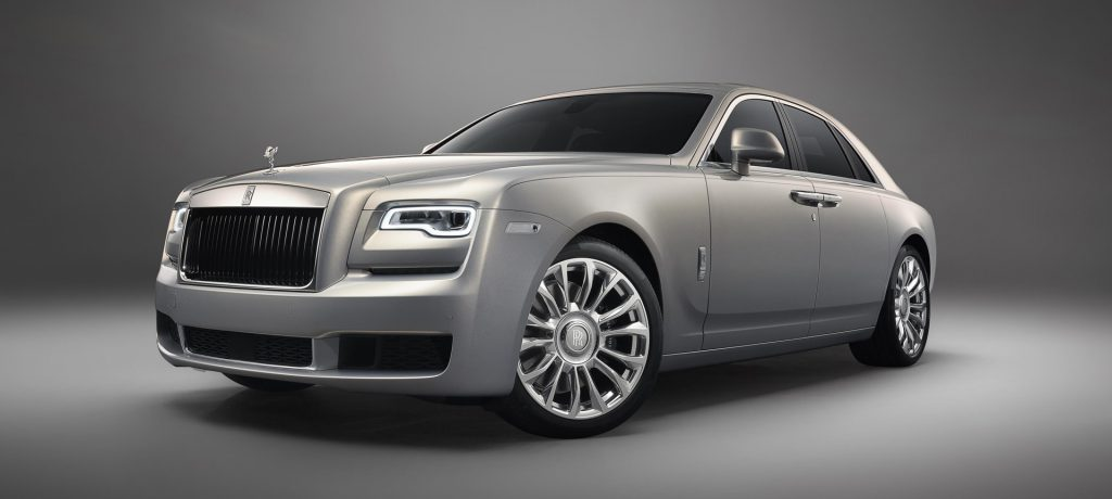 Rolls-Royce Launches Silver Ghost Collection