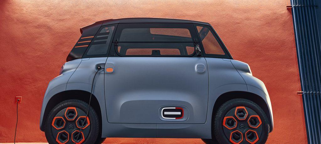 Citroën Makes Tiny Electric Car for Novice Drivers