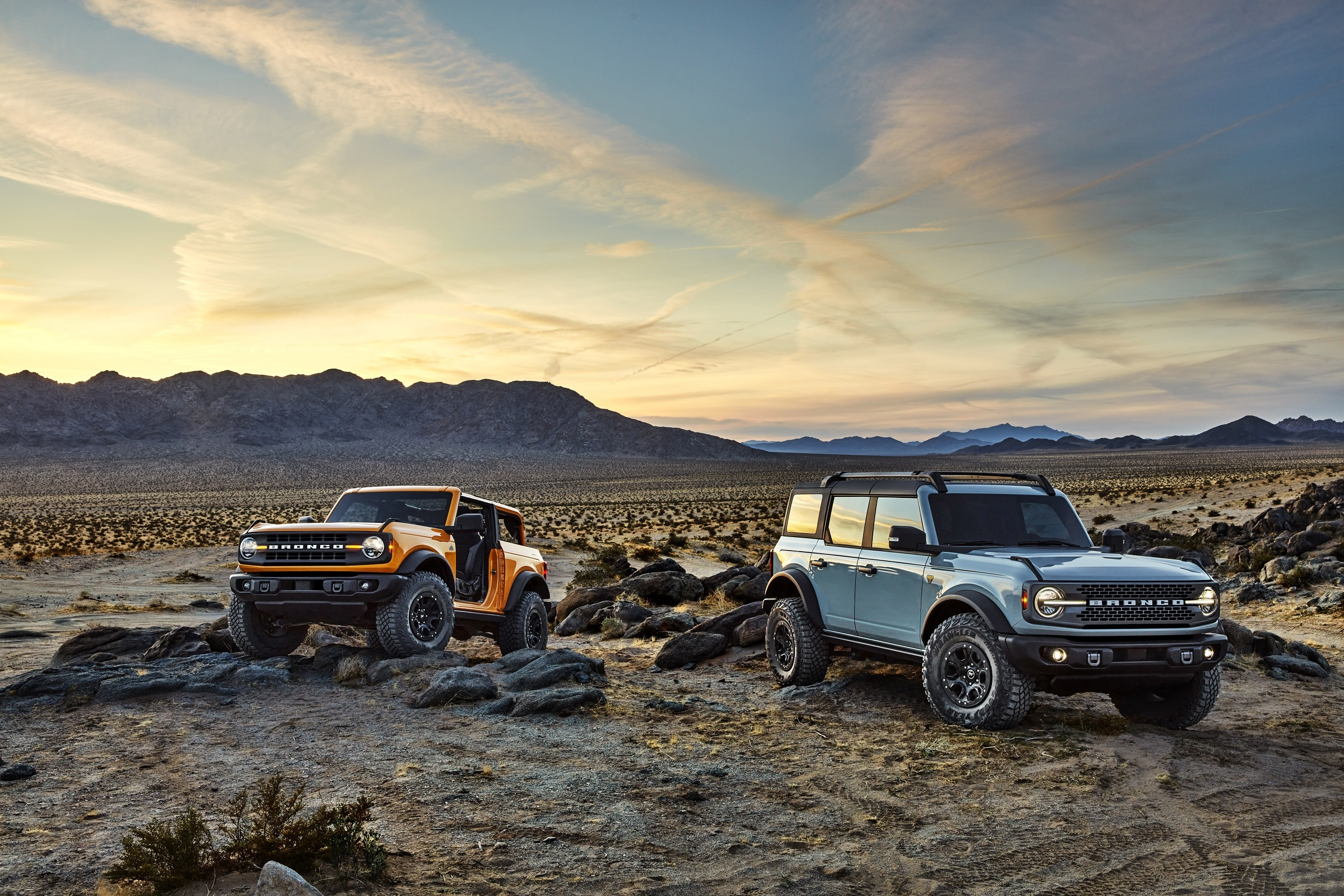 All-New 2021 Bronco Two-Door and First-Ever Four-Door Models