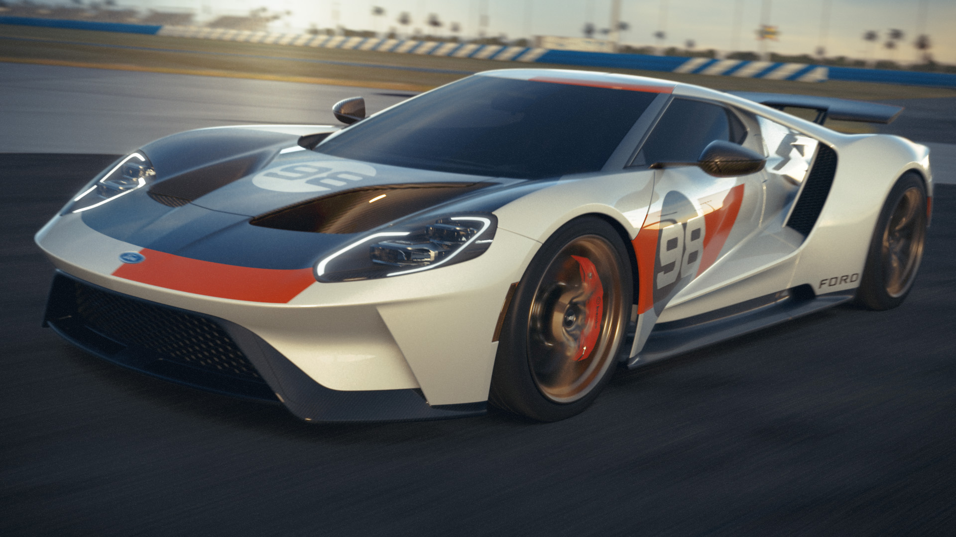 First-Ever Ford GT Heritage Edition to Celebrate Storied '66 Daytona Win