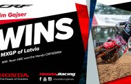 Team HRC's Tim Gajser wins in Latvia and retains the red-plate