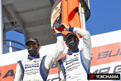 YOKOHAMA ADVAN racing tire equipped car wins GT300 class at Round 1 of the 2021 SUPER GT Series
