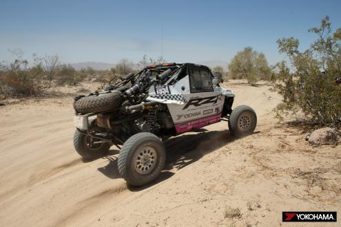 YOKOHAMA tire equipped machine wins class at off-road endurance race in Mexico