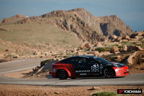 Yokohama Rubber supporting 13 cars competing in US's most challenging hill climb Aiming for second straight overall championship