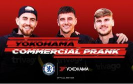 Yokohama Rubber and Chelsea FC post video featuring Chelsea players on SNS