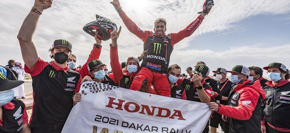 Kevin Benavides Claims First Dakar Rally Victory