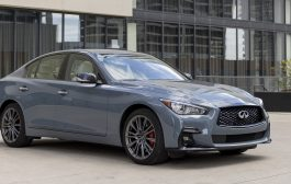 2022 INFINITI Q50 powers up with new Sport Black edition and standard wireless Apple CarPlay