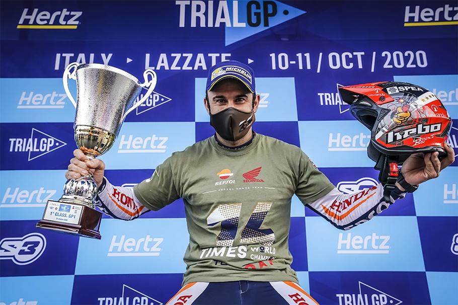 Toni Bou Wins 14th Consecutive FIM Trial World Championship Title