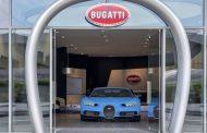Bugatti Opens Brands Largest Showroom in Dubai