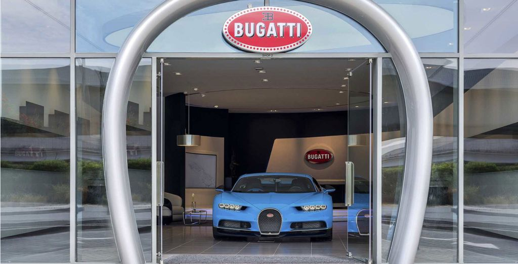 Bugatti Opens Brands Largest Showroom in Dubai