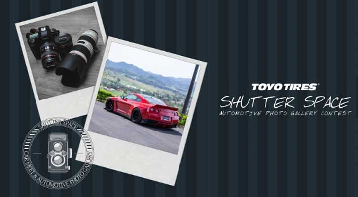 Toyo Tires Announces 2017 Shutter Space Automotive Photo Gallery Contest