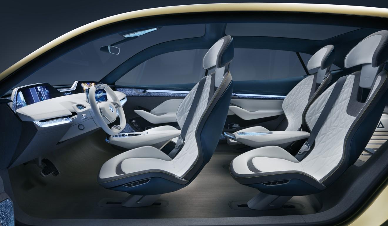 Lasvit Makes Crystal Components for Skoda Vision E concept car