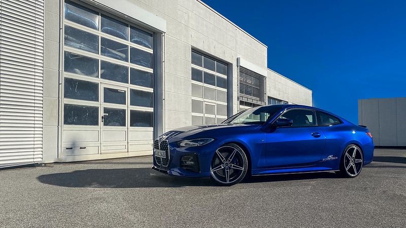 Top sporting performance and visual independence beyond the standard: with the tuning range for the BMW 4 Series, AC Schnitzer makes an even clearer distinction possible.