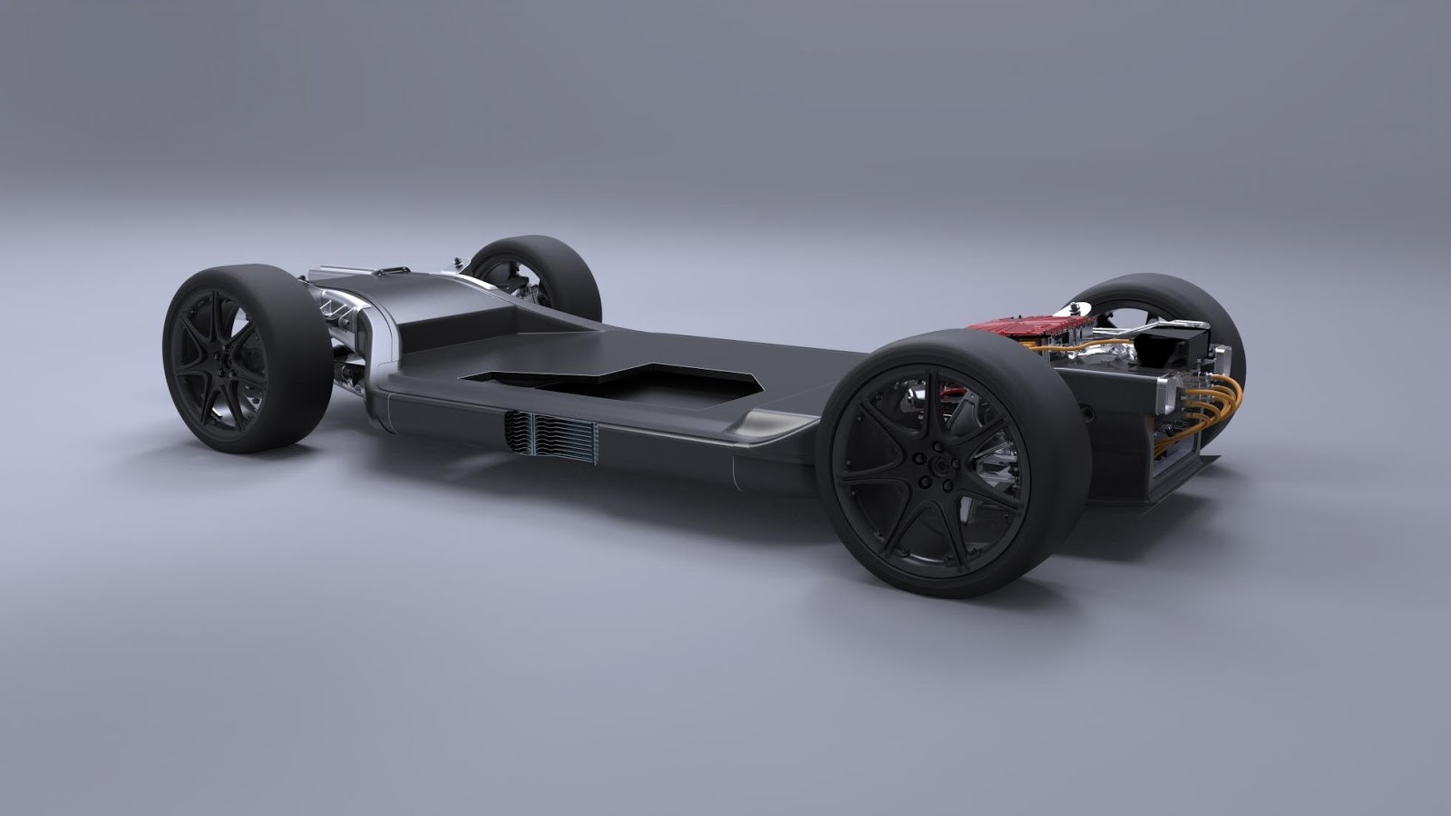 Williams Makes New Carbon Platform for Electric Cars