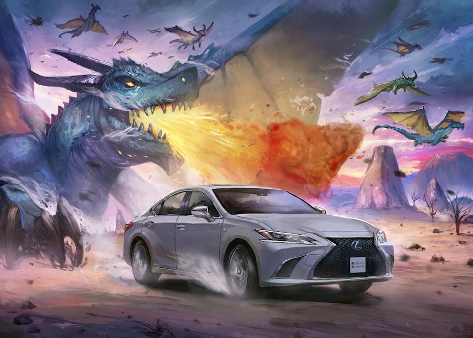Lexus Commissions Manga Artists to Capture the Spirit of Lexus