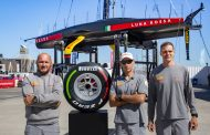 A Pirelli Formula 1 Tyre Signed By The Luna Rossa Team Auctioned For Charity
