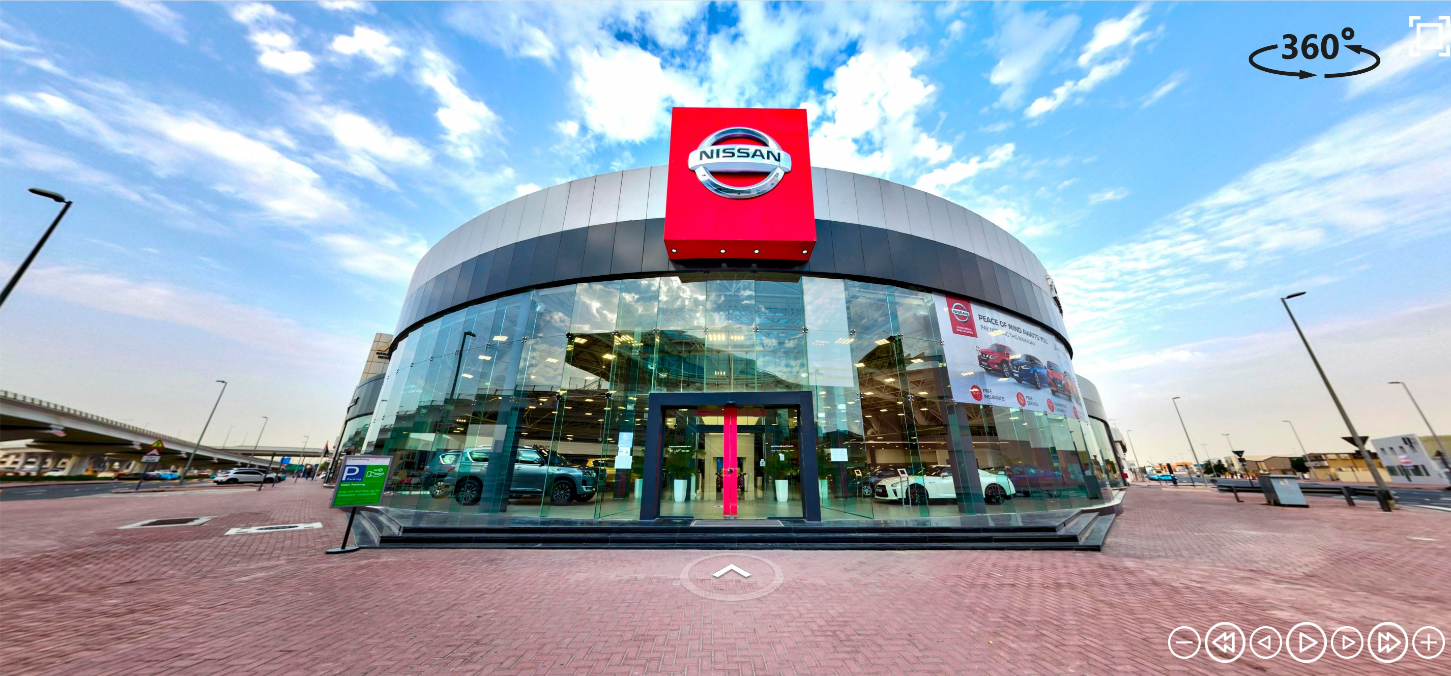 Arabian Automobiles' Nissan showrooms can now be visited virtually