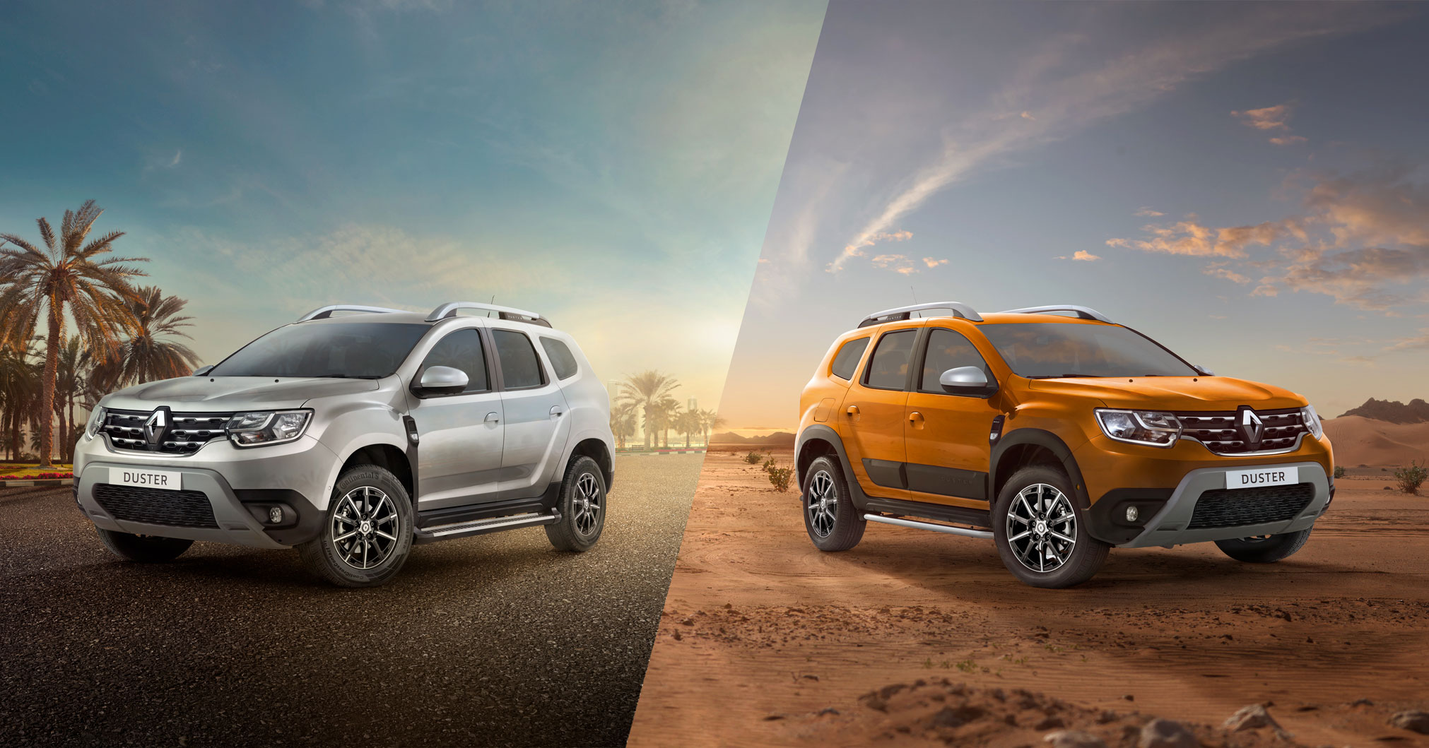 RENAULT of Arabian Automobiles embraces the bold and the stylish Duster Sport & Urban