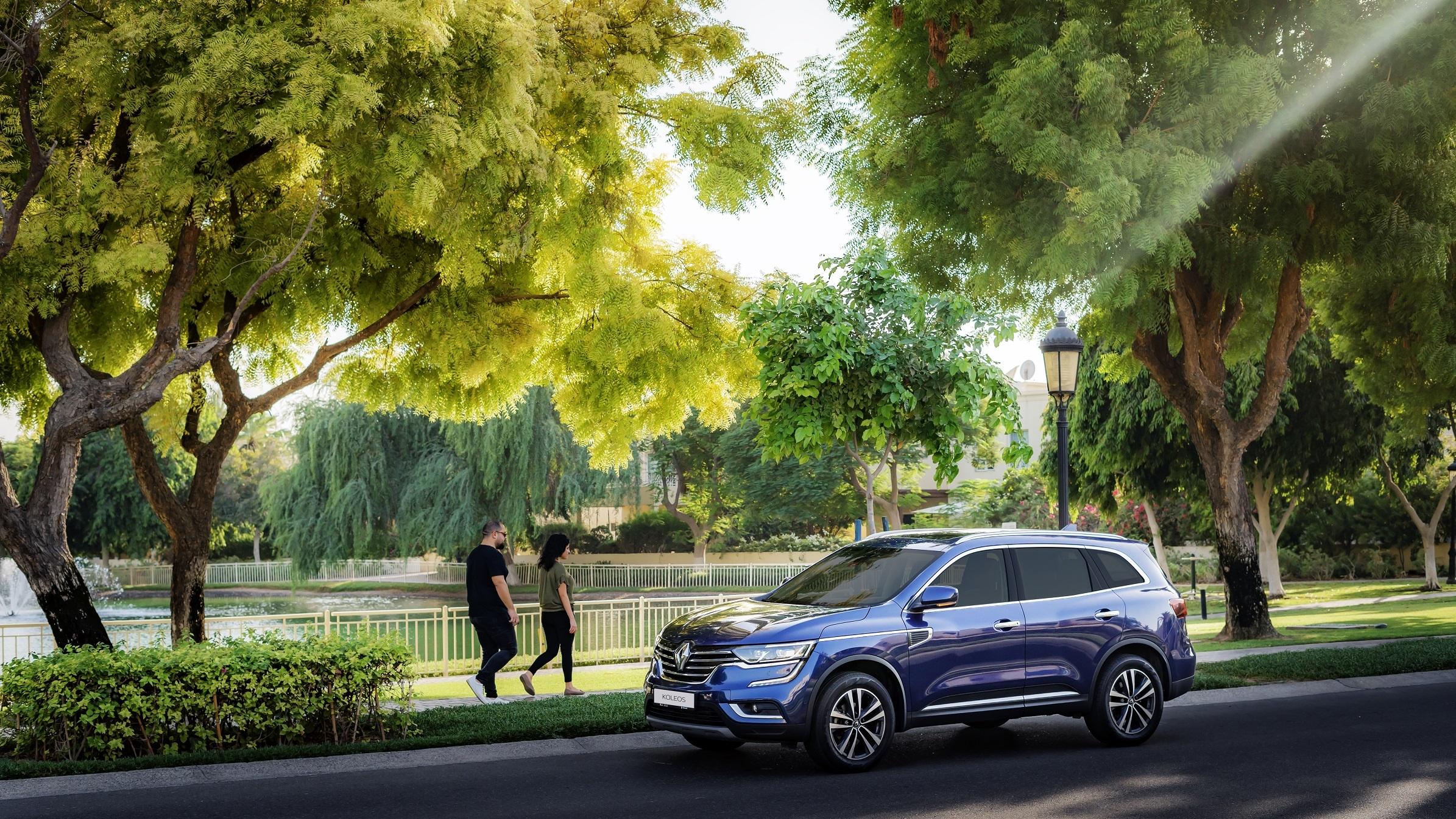 Koleos 2021 makes a stylish arrival at Renault of Arabian Automobiles