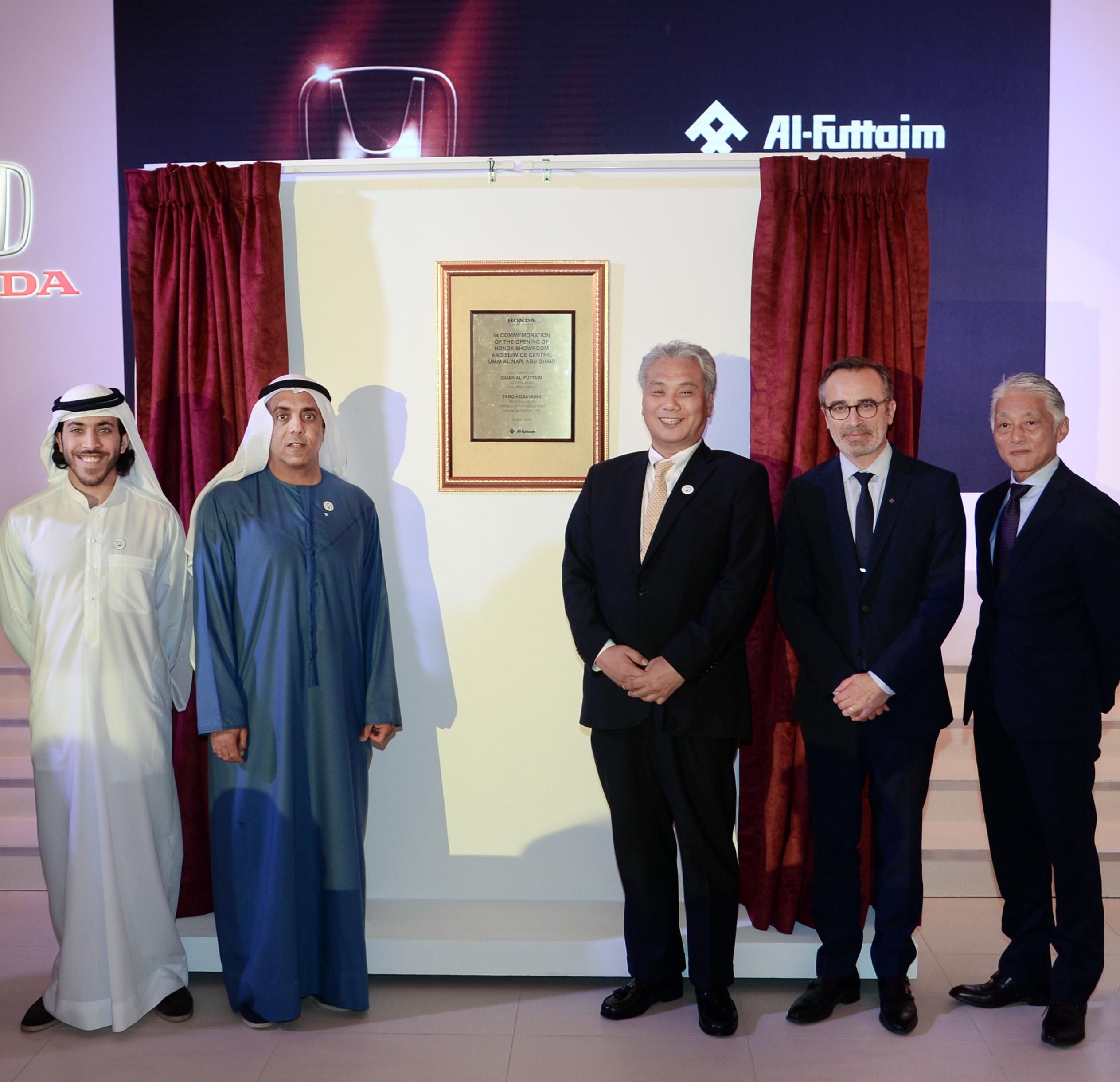 Al-Futtaim Honda Opens New 3S Facility in Abu Dhabi