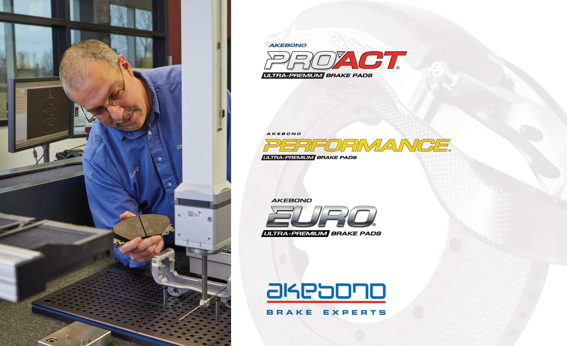Akebono Expands Aftermarket Coverage with 31 New Part Numbers